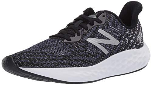 New Balance Women's Fresh Foam Rise V2 Running Shoe, Black/Thunder/White, 10.5