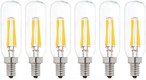 2-Pack 4W 284mm LED S15s Fitting Lamp T25 Tubular Clear Filament Light bulb