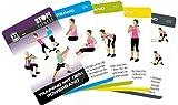 STOP! Fitness | Entraînement avec le Powerband | Cartes d'entraînement – Version allem...