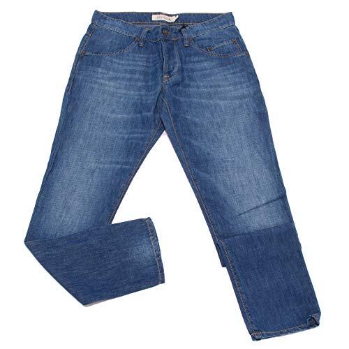 SIVIGLIA 5088X Jeans Uomo Blue Jeans Cotton Linen Trouser Man [31]