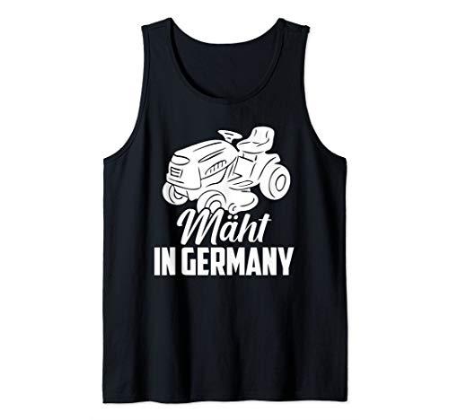 Mäht in Germany Rasenmäher Gärtner...