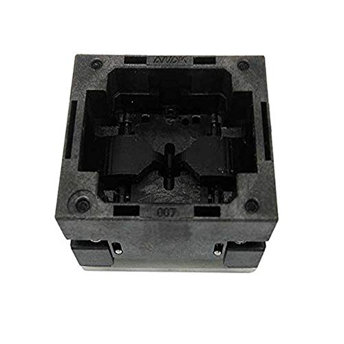 QFN8 WSON8 Burn in Socket Open Top Pogo Pin IC Test Socket Pitch 0.8mm Chip Size 4x3 Flash Adapter Programming Socket