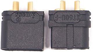 KINGDUO Amasser xt60U 3.5 Mm Banane Noir Mâle & Femelle 1 Paire De Connecteurs