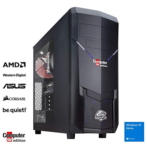 ONE Gaming PC Tiger Computer Bild Edition AMD Ryzen 5 3600X 6X 4.40GHz ASUS NVIDIA GeForce GTX 1660 SUPER 16GB DDR4 500GB M.2 PCIe (NVME) SSD Windows 10 Home 3 Jahre Garantie