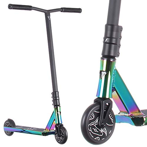 Anaquda Park V7 Stunt-Scooter H=89cm (neochrome Rainbow oilslick)