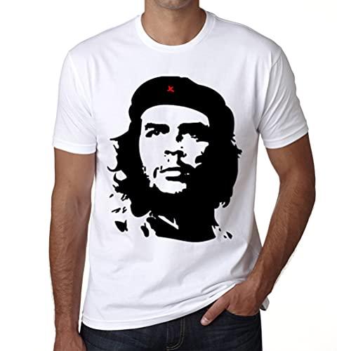 Che Guevara Blanco, Camiseta para camiseta hombre, manga corta, cuello redondo, blanco