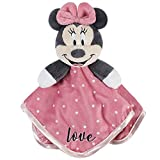 Disney Baby Minnie Mouse Security Blanket, Pink, 12' x 12'