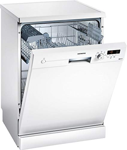 Siemens iQ100 SN215W01CE lavavajilla Independiente 13 cubiertos A++ - Lavavajillas (Independiente, Tamaño completo (60 cm), Blanco, Blanco, Botones, Giratorio, 1,65 m)