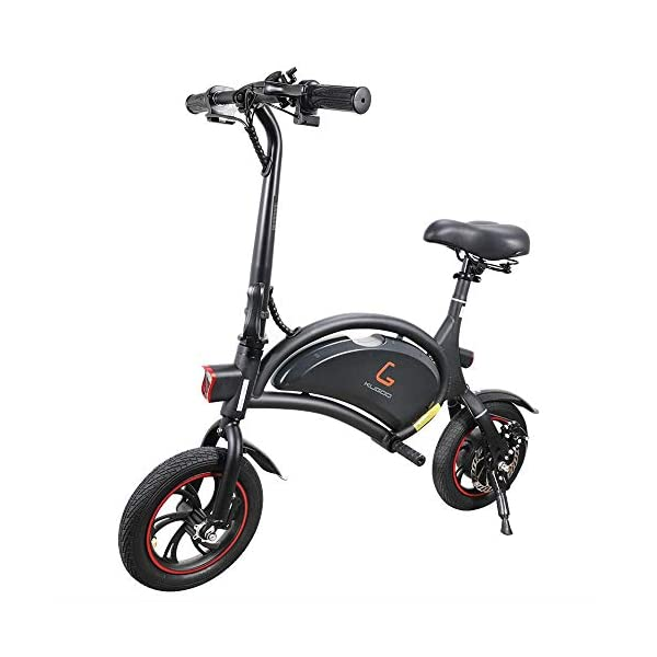Electric Bikes Kugoo B1 Electric Bike, Foldable Bike with 250W Brushless Motor, App Support, 12 Inch Wheel Max Speed 25 km/h E-Bike for Adults and Commuters [tag]
