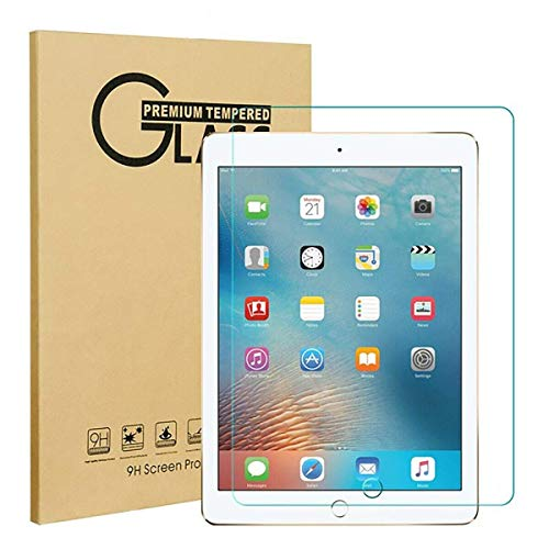 Glass Screen Protector (Anti-Scratch, Tempered Glass, Bubble-Free) for iPad Air   Air 2   iPad 6th Generation   iPad 5th Generation   Pro 9.7' - RepairPartsPlus