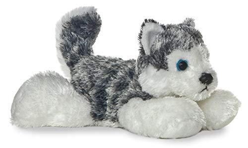 Aurora - Mini Flopsie - 8' Mush, Grey/White