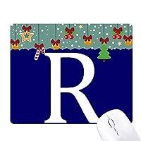 南アフリカ通貨記号ランド・ザル ゲーム用スライドゴムのマウスパッドクリスマス