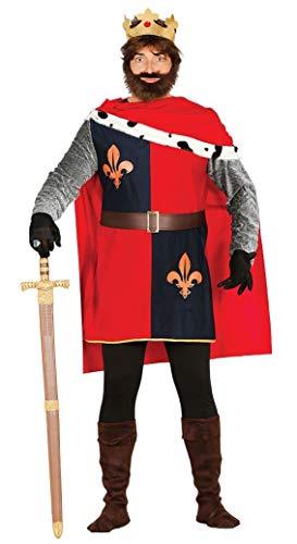 Fiestas Guirca monarque médiéval Costume Roi Arthur