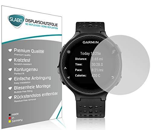 Slabo 4 x Displayschutzfolie kompatibel mit Garmin Forerunner 235 Displayschutz Schutzfolie Folie No Reflexion|Keine Reflektion MATT - Entspiegelnd Made IN Germany