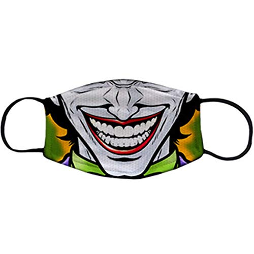 Cubreboca tapaboca Reutilizable Parodia Risa de Joker - Adulto