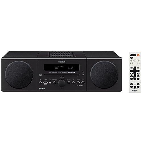 ヤマハ マイクロコンポ CD/USB/ワイドFM・AMラジオ Bluetooth対応クロックオーディオ ブラック MCR-B043(B)