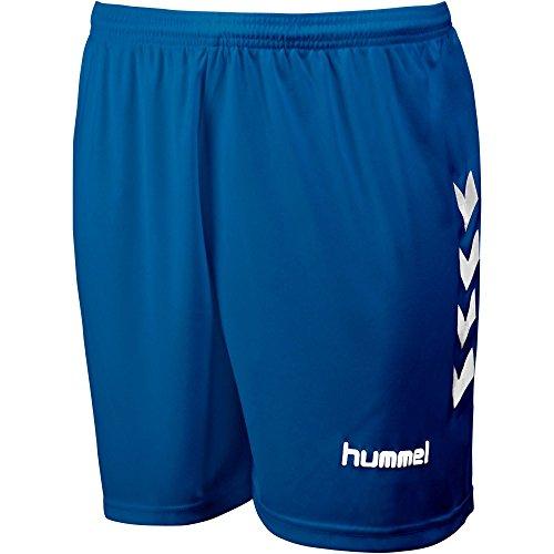 Hummel - Short CLASSIC Bleu Marine / Blanc Taille - L