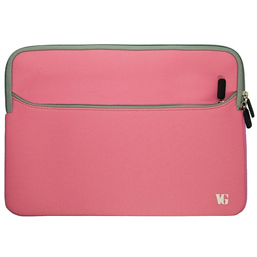 Pink Protective 17 inch Laptop Sleeve Carrying Bag Fit for HP Envy 17 17t, Notebook 17, Omen 17 17t, Pavilion 17t Gaming 17z, ZBook 17 G4 G3, ProBook 470 G5 G4 G3 17.3 inch