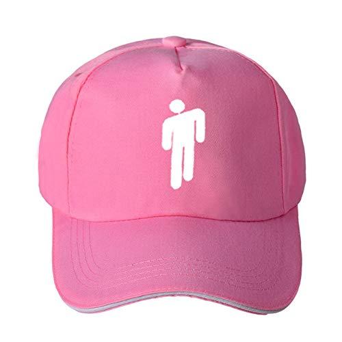 Baseball Cap Cap Kappe Mütze Sänger Hüte Baseball Caps Rapper Einfache Frauen & Männer Tanzen Menschen Druck Casual Sonne Hut,Pink