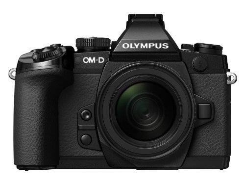 "Olympus OM-D E-M1 - Cámara Evil de 16 MP (Pantalla de 3"", Objetivo 12-50mm f/3.2, estabilizador de Imagen, vídeo 1080p Full HD) Negro - Kit con Objetivo ED"