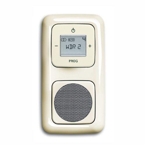Komplett-Set BUSCH-JAEGER, Digitalradio, Lautsprecher -cremeweiß- -Duro 2000-