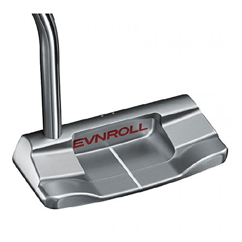 "Evnroll Golf- ER2 Mid Blade Putter 34"""