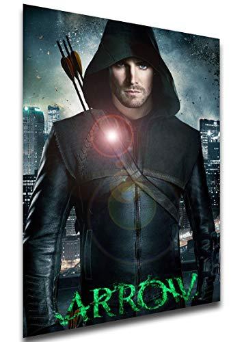 Instabuy Poster - TV Series - Playbill - Arrow Variant 02 A4 30x21