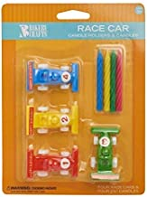 ace Car Birthday Cake Candle Holders