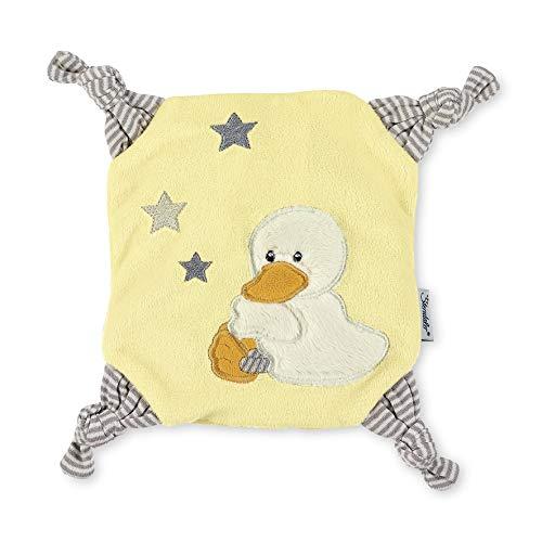 Sterntaler Wärmekissen Ente Edda, Alter: Für Babys ab dem 1. Monat, Größe: 22 x 22 cm, Farbe: Gelb