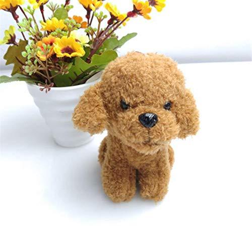 HKMB Fancy & Fantasy Schmuck Mini Pudel Schlüsselanhänger Frauen Fluffy Teddy Hundespielzeug Puppe Plüsch Schlüsselbund Tier Niedliche Tasche Charms Geschenk