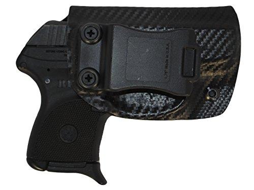 Black Jacket Holster IWB KYDEX Holster: fits Ruger LCP 380 (Carbon Fiber Black - Right Hand)
