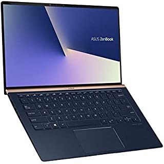 Asus Zenbook 14 UX433FN-A5214TS  Ultrabook (Icicle Silver) - Intel i7-8565u 4.6 GHz, 16 GB RAM, 0 GB SSD, Nvidia Geforce MX150, 14 inches LED, Windows 10 Home, Eng-Arb-KB