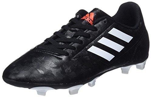 adidas Conquisto II Fg J, Scarpe da Calcio Bambino, Nero (Cblack/Ftwwht/Solred 000), 29 EU