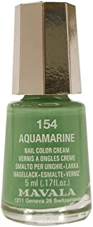 Mavala Switzerland Mini Color Nail Polish - Aquamarine, 5 ml