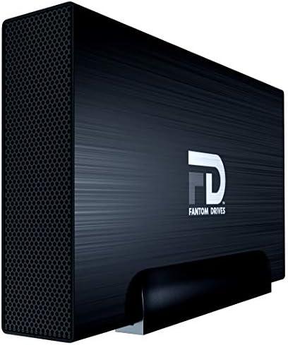 Fantom Drives 8TB External Hard Drive Super Fast 7200RPM USB 3 0 Black Aluminum External Hard product image