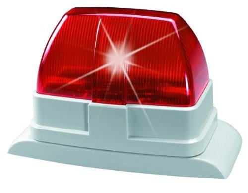 ABUS Draht-Blitzleuchte SG1670 rot IP54 spritzwassergeschützt Aufputz Alarm Blitzlicht
