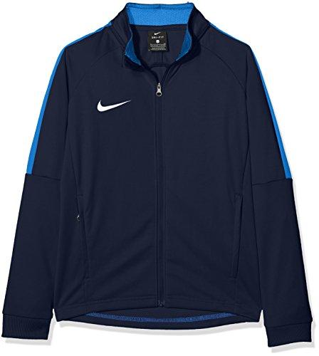 NIKE Y NK Dry Acdmy18 Trk Jkt K Sport jacket, Niños, Obsidian/ Royal Blue/ White, L