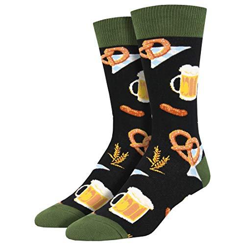 Socksmith Herren Oktoberfest Beer Crew Socken - schwarz -