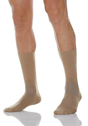 Relaxsan 550 (Beige, Gr.3) Kurze Socken Diabetes mit X-Static Silberfasern