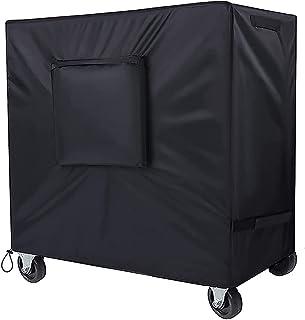 SIRUITON Cooler Cart Coque Polyester Oxford extérieur étanche Cooler Coque Noir 95x 92x 50cm
