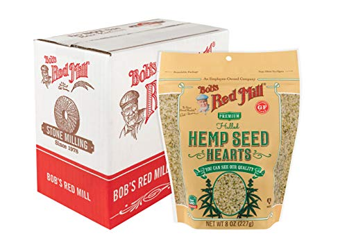 Bob's Red Mill Resealable Hulled Hemp Seed Hearts, 8 Oz (6 Pack)