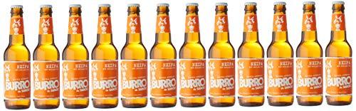 Burro de Sancho Cerveza estilo New England - 12 botellas x 330 ml - Total: 3960 ml