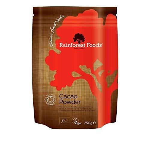 Rainforest Foods | Organic Peruvian Cacao Powder 250g | 4 x 250g (IT)