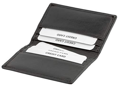 Koruma-ID-protection portemonnee, met paspoort-/kaartenvak, echt leer