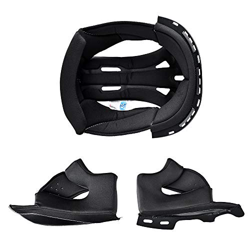 Helmet Liner for FreedConn BM12 Motorcycle Bluetooth Helmet, Removable & Washable (Size, XXL)