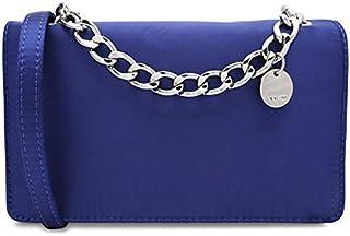 حقيبة للنساء من ناين ويست - ازرق - حقائب بطية للاغلاق (745021252051)