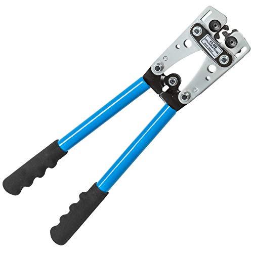TecTake Crimpadora tenaza crimpar alicate engarzador Herramienta terminales - Varias tamaños - (6–50 mm² | no. 401635)