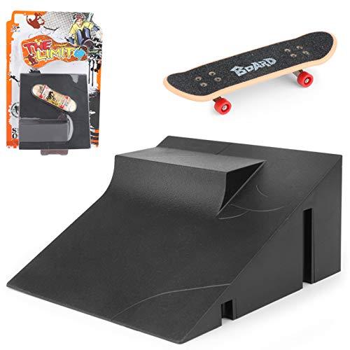 Kit de escalera de diapasón de carril de carril para escaleras, mini monopatín para niños, juego de mesa // 9 años de edad y más