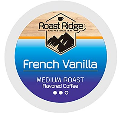 Roast Ridge Single Serve Coffee Pods Compatible with Keurig K-Cup Brewers, French Vanilla 100 Count