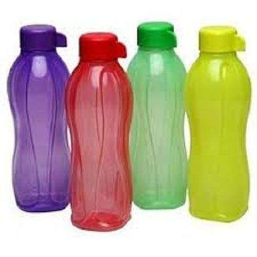 Stunning Plastic Water Bottle Aqua Safe 500 ML Screw Top (Set of 4)